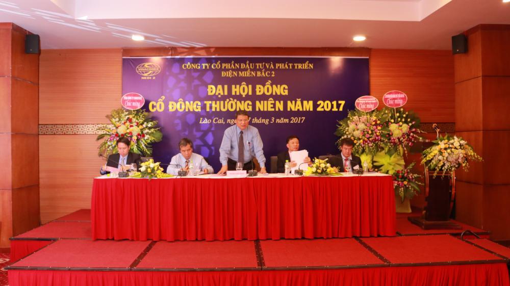 NEDI2 tổ chức thành công Đại hội đồng cổ đông thường niên năm 2017 (27/3/2017)