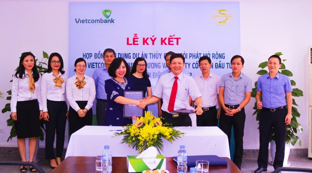 Lễ ký kết hợp đồng tín dụng dự án thủy điện Ngòi Phát mở rộng