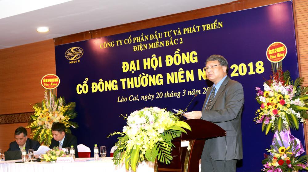 NEDI2 tổ chức thành công Đại hội đồng cổ đông thường niên năm 2018