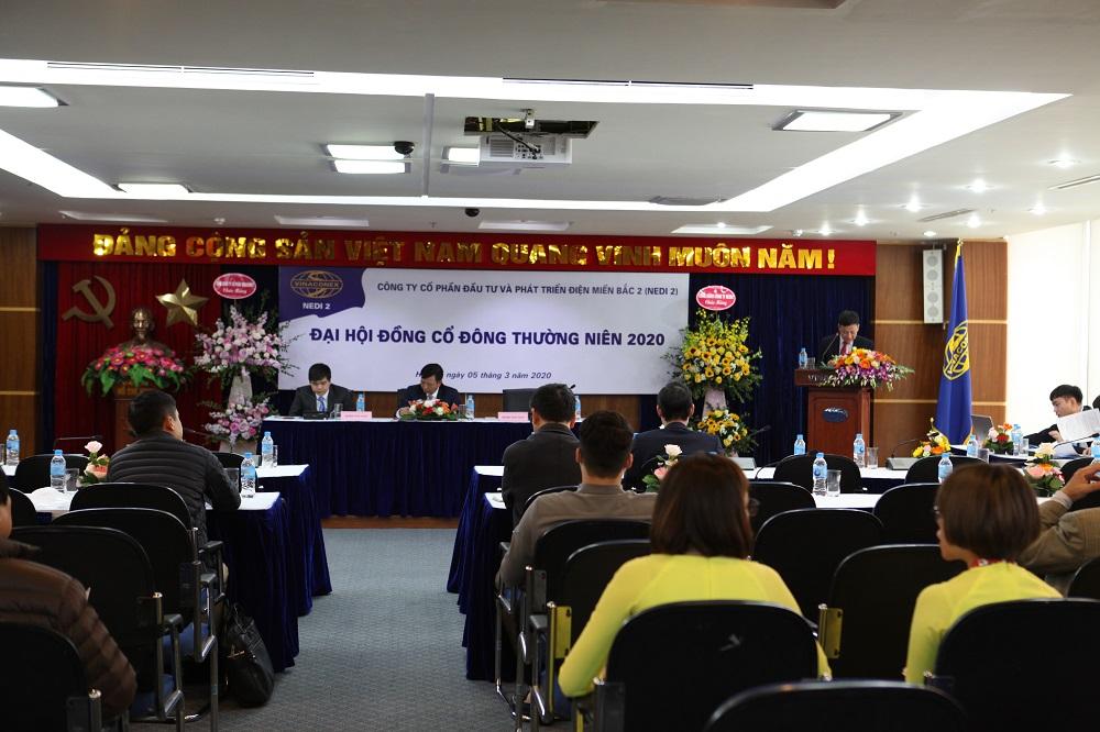 NEDI2 tổ chức thành công Đại hội đồng cổ đông thường niên năm 2020