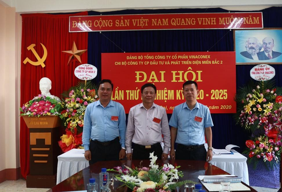 Đại hội Chi bộ Công ty Cổ phần NEDI2 lần thứ  IV nhiệm kỳ 2020 – 2025