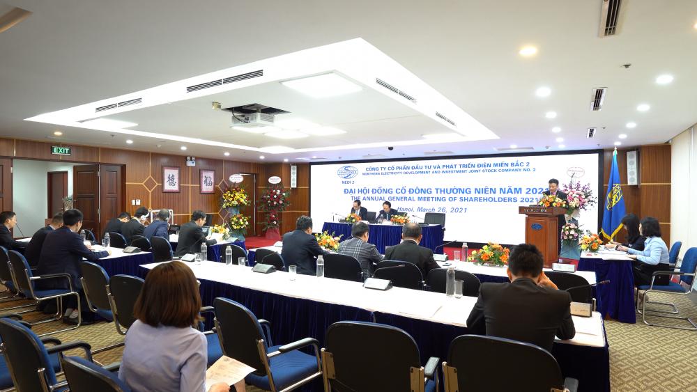 NEDI2 tổ chức thành công Đại hội đồng cổ đông thường niên năm 2021